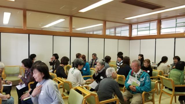 猪名川町傾聴講座風景写真2