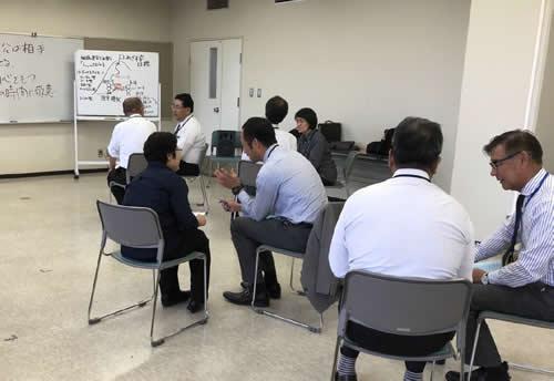 人材育成研修 喜田研修風景2