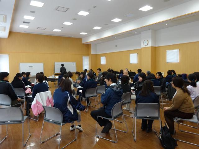人材育成講師による小野市豊かな人間関係を築くために写真