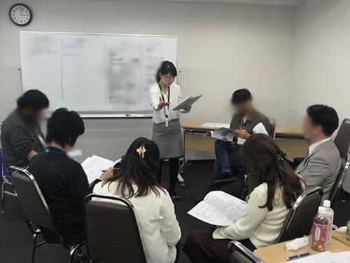 レジリエンス社員育成セミナー風景2