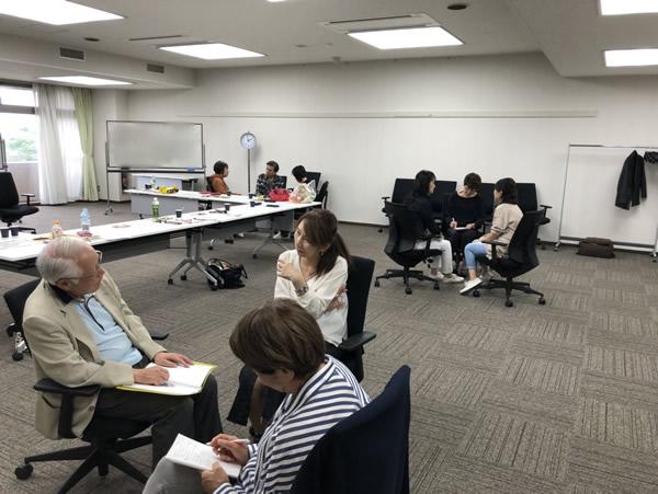 2019合宿 人材育成研修練習風景4