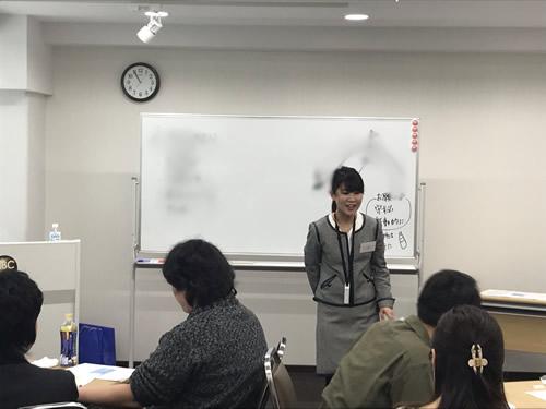 レジリエンス社員育成セミナー風景1